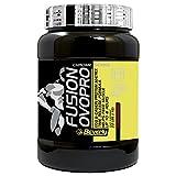 Beverly Nutrition Exclusive para ABSat40 FUSION OVOPRO Proteína de huevo y caseína en polvo, para una liberación lenta y absorción de proteína en los músculos, ideal tanto para ganar músculo como para