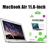 Antikratzerverstärkter Displayschutzfolie für MacBook Air 11 Zoll A1370 / A1465, LENTION HD Displayschutzfolie für Apple Laptop, 4H Härte, Einfach Anzubringen