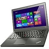 Lenovo ThinkPad X240 31,7 cm (12,5 Zoll) Notebook (Intel Core-i7 4600U, 2,1GHz, 3,3GHz, 8GB RAM, 256GB SSD, Intel HD Graphics 4400, Win 8) schwarz