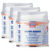 Liqui Moly 3X 3344 Auspuff-Bandage Auspuff-Reparatur 1m