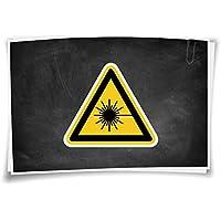 Schild PVC Warnung vor Biogefährdung D-W016 SL 200mm