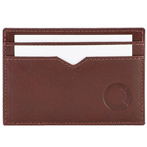 FEYNST Leder Herren Geldbörse Portemonnaie Brieftasche Geldbeutel Kreditkartenetui Herrengeldbörse Ledergeldbörse -
