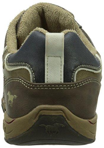 Mustang  4085-303-32,  Herren Sneaker Braun (32 dunkelbraun)