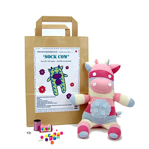 (Sock Cow Craft Kit)