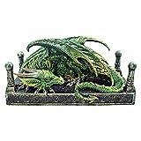 Drachen Den, grüner Drachen Bild grün - Fantasy - Nemesis Now