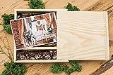Legno chiavetta usb scatola (senza usb) Stampa e legno chiavetta matrimonio USB Flash Scatola regalo personalizzato con scatola fotografica Scatola da regalo per foto