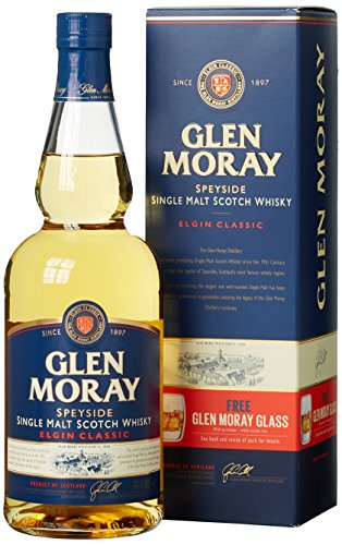 Glen Moray Speyside Single Malt Whisky classic - 0.70 l