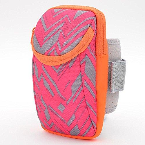 BUSL Laufen Telefon Armbeutel Sport-Fitness-Ausrüstung Arm Paket Arm Tasche Arm Hülse Handgelenktasche Männer und Frauen a