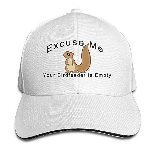 Peak Excuse Me Your Birdfeeder Is Empty Squirrel Sandwich Hat For Mens (Baby Kostüme Am Ziel)
