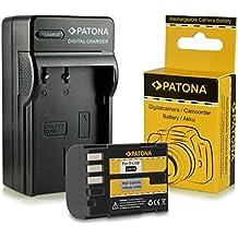 Caricabatteria + Batteria D-Li90 DLi90 per Pentax 645D | K-01 | K-5 | K-5 II | K-5 Iis | K-7 e più… [ Li-ion; 1400mAh; 7.2V ]