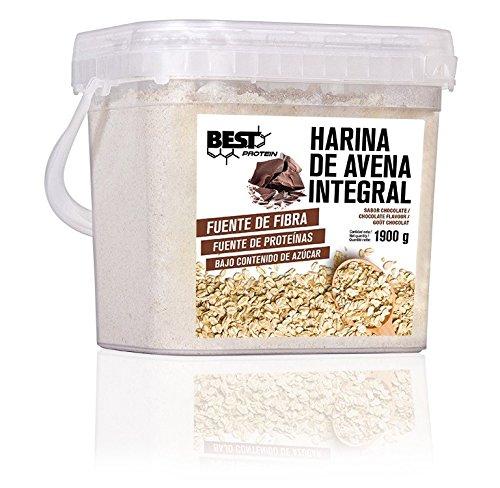 · Ayuda a incrementar el rendimiento físico · Contribuye a mejorar la masa muscular La harina de avena integral, es una fuente natural de hidratos de carbono complejos de alto valor energético. La avena constituye uno de los cereales con mayor conte...