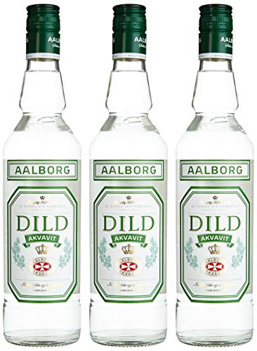 Aalborg Dild Akvavit 38{68706aa9f1eaea58ec0be20ce7ccd51e48f083f6cfb850d3954d2f2fee1a8f88} (3 x 0.7 l)