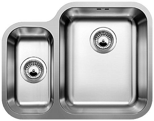 blanco-ypsilon-550-u-edelstahlspule-burstfinish-spulbecken-kuchenspule-unterbau