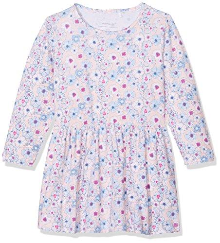 n NBFFANOJA LS Dress Kleid, Mehrfarbig (Peachy Keen), 68 ()