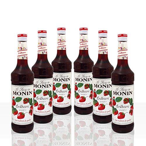 Monin Sirup Erdbeere 6 x 0,7l