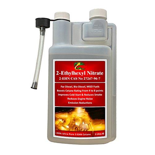 Ultra Pure > 99% 2 Etilo, nitrato de hexilo, combustible HYDRA 2 EHN + biodiésel + aditivo de combustible MGO