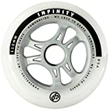 Powerslide Rollen Infinity II 4-Pack, Weiß, 110mm, 905234