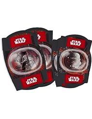 Kit protección coderas y rodilleras bicicleta Star Wars Disney