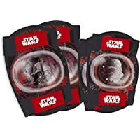 STAR WARS Childrens Elbow and Knee Pads Set Kids Skate