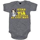 Best La ropa sin marca tía del bebé - Body bebé Star Wars Star con mi tia Review