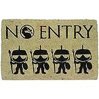 koko doormats Felpudo No Entry, PVC, Coco, 40 x 60 cm