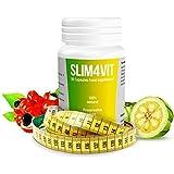 Pilules de perte de poids - Slim4Vit Comprimés de minceur - Pilules pour maigrir et perdre du poids - tablettes pour produits de perte - Suppléments de régime pour les femmes