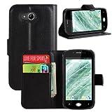 jbTec® Flip Case Handy-Hülle zu Wiko Sublim - BOOK