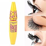 #9: Yellow Leopard Colossal Mascara Volume Express Makeup Curling Waterproof Eyelashes