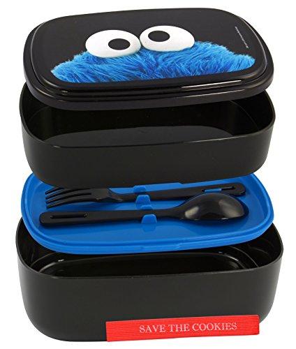 sesame-street-0122029-boite-a-pain-bento-box-avec-couverts-et-cookie-monster-entre-le-couvercle
