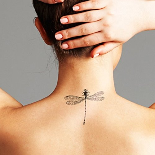 Drangonfly - Temporary Tattoo (Set of 2)