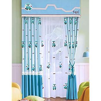 Amazon.de: Lactraum Vorhang Kinderzimmer Junge Maritim mit