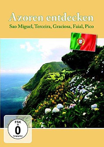 Azoren entdecken - Sao Miguel, Terceira, Graciosa, Faial, Pico, Flores [2 DVDs]