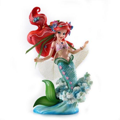 Enesco 4037524 Figurina Arielle, Resina, Disney Show Case 21 cm