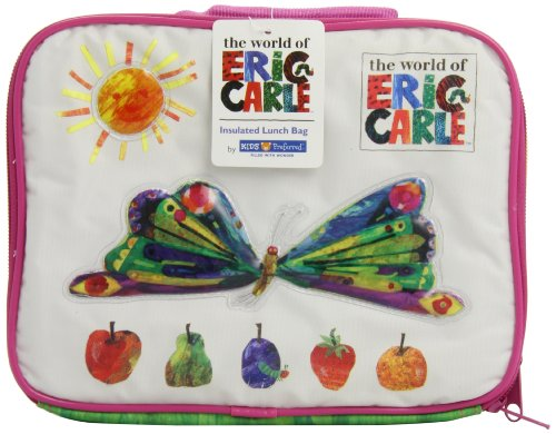 The World of Eric Carle: Butterfly Lunch Bag by Kids Preferred by Kids Preferred (English Manual)