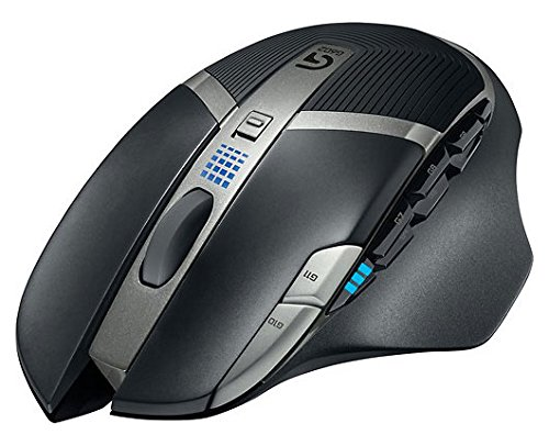 Logitech G602 schwarz 1 x Wheel USB RF Wireless 2500 DPI Gaming Mouse 910 003820