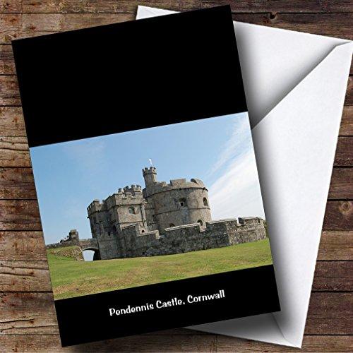 Pendennis, castello Cornovaglia Inghilterra Personalised Birthday Greetings (Castello Pendennis)