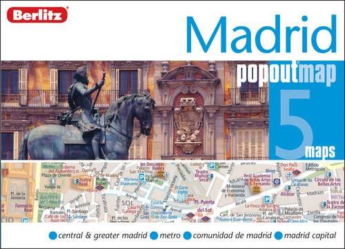 Madrid Berlitz PopOut Map (Berlitz PopOut Maps)