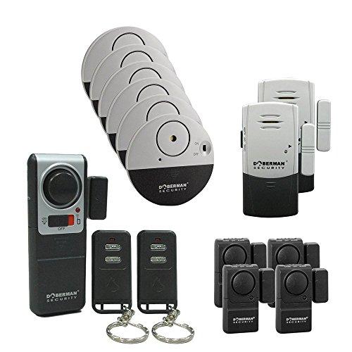 Top-Guard Dobermann Sicherheit 13pcs Alarm Haus und Büro Sicherheit Kit (SE-0157)