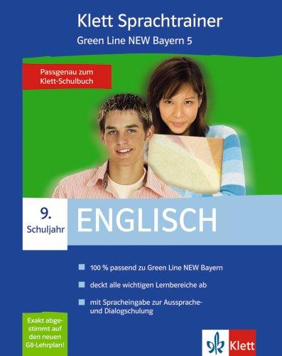 Preisvergleich Produktbild Sprachtrainer Englisch 9. Schuljahr Green Line NEW Bayern 5