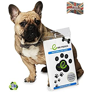 Enki Pooch - Revolutionary Eco Friendly Dog Towel (Pack Of 3 Pooch Towels) 60cm x 100cm