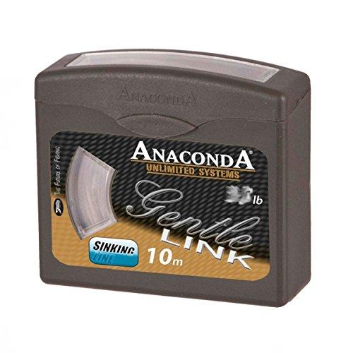 Anaconda Gentle Link 10m 15lb 2223415 Karpfenvorfach Vorfachschnur