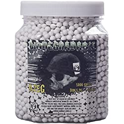 Balines para pistola de bolas Airsoft bote 5000 bolas biodegradables 0,25 g
