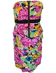 SMASH Wear Barcelone GLORIES Robe Bustier Midi Femme Taille L Dress