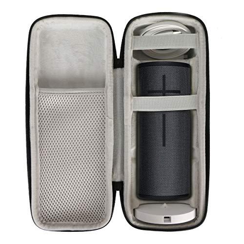 Khanka EVA Dur Cas Voyage étui Housse Sac Case pour Ultimate Ears UE Boom 3 Enceinte Bluetooth sans Fil (Carré)