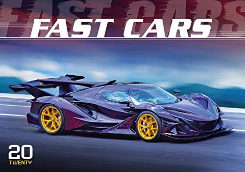 Fast Cars 2020 - Der Sportwagenkalender - Bildkalender quer (49 x 34) - Auto-Kalender - Technikkalender - Wandkalender