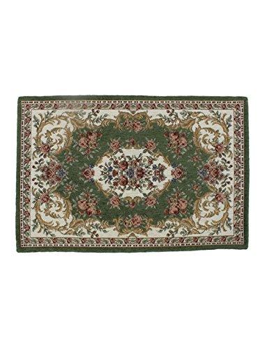 Preisvergleich Produktbild 60x40cm Blumen Muster Rechteck Form Fußmatte Sauberlaufmatte Schmutzfangmatte