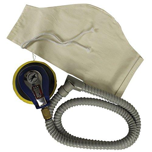 Kit Pneumatische Schleifmaschine Poliermaschine Roto Orbital Stylus + Rohr + Tasche () von hymair
