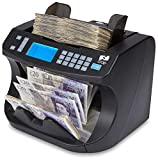 The ZZap NC40 Banknote Counter & Counterfeit Detector - 1600 Notes/min, Batch Counting