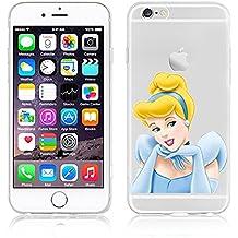 Diseño de princesas Disney de Cenicienta carcasa suave para Apple iphone 6/6S y 6 s + /+, plástico, CINDERELLA .6, APPLE IPHONE 6+/6+S