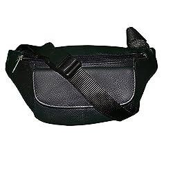 Style98 100% Genuine Leather Waist Pouch||waist Bag||Travel Organizer Bag For Men,Boys,Girls & Women